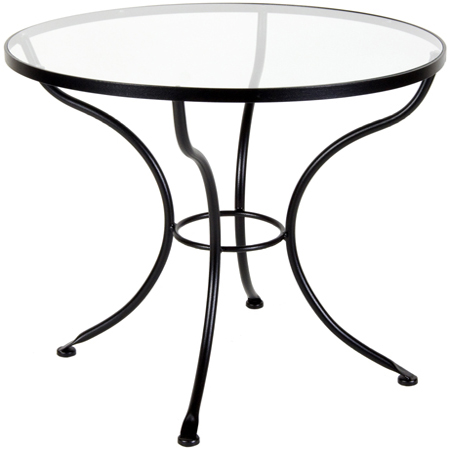Glass Bistro Tables