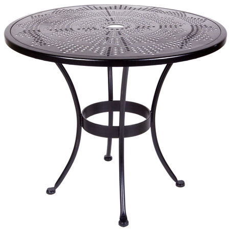 Stamped Metal Bistro Tables