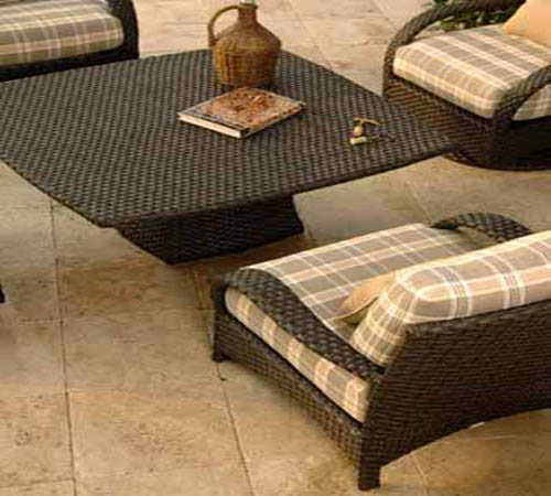 Ebel Table Bases u0026 Tops & Ebel All Weather Woven Wicker Furniture