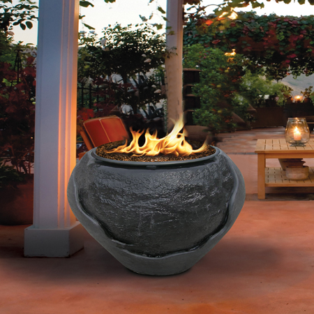 Waterfall Firepit Series