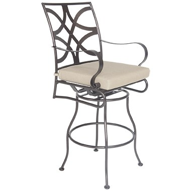 Marquette Armless Swivel Bar Stool