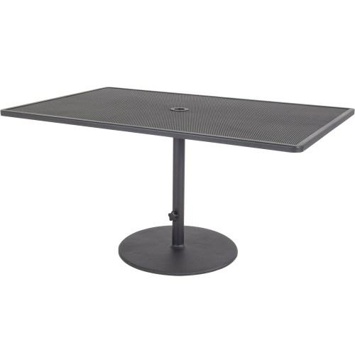 "Lennox 36""x58"" Pedestal Dining Table"