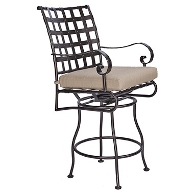 Classico W Swivel Counter Stool With Arms