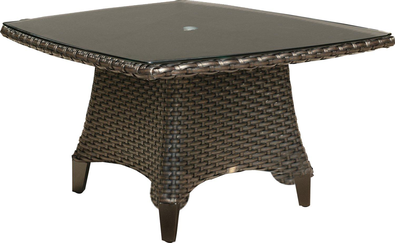 "Kapaa 42"" SR Conversational Table w/ Woven Top"