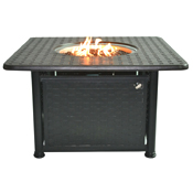 """Atlas 42"""" Sq Chat Height Fire Pit"""
