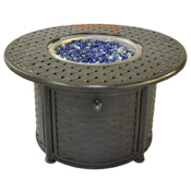 """Atlas 42"""" Rd Chat Height Fire Pit"""