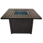 """Drift 44"""" Sq Chat Height Fire Pit"""