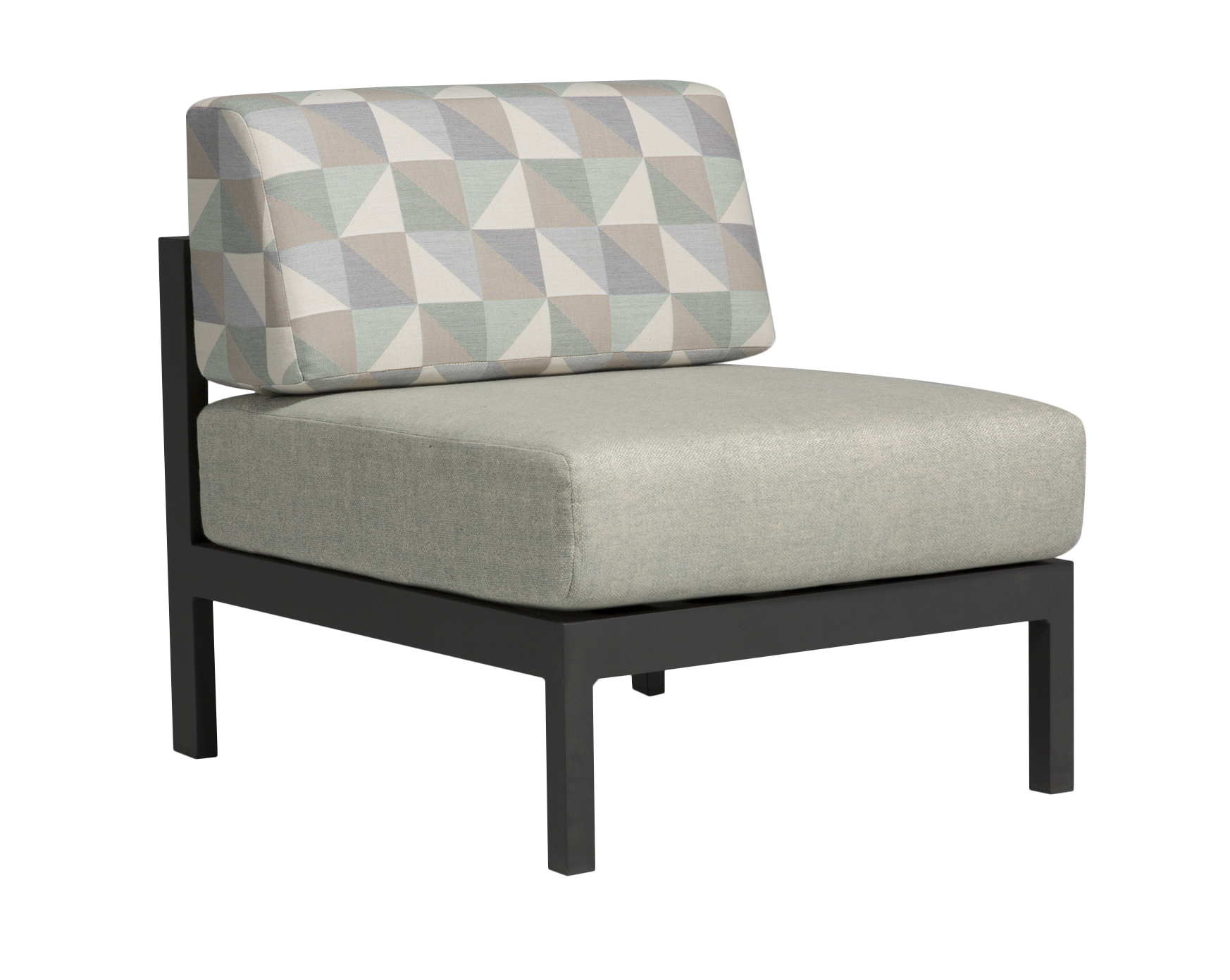 Milano Sectional Armless Chair