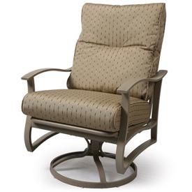Albany Cushion Spring Swivel Club Chair