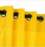 Grommet Outdoor Curtains - Canary