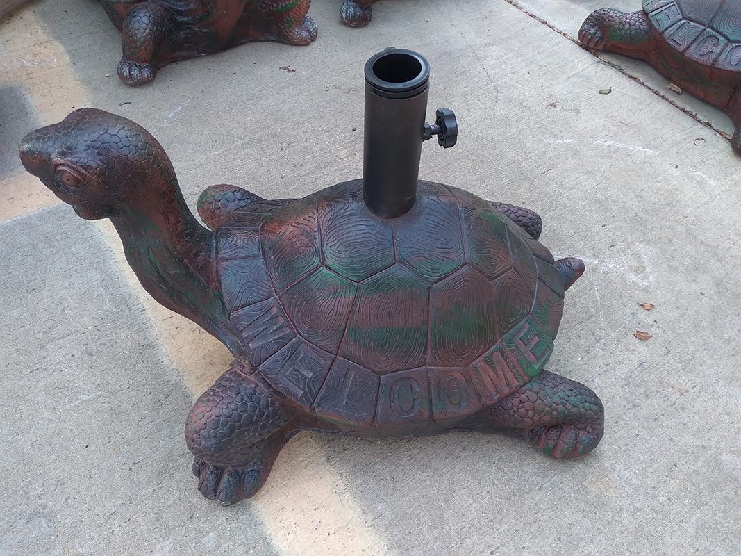 65 Pound Turtle Base