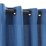 Grommet Outdoor Curtains - Coastal Blue