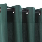 Grommet Outdoor Curtains - Green
