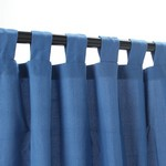 Tab Outdoor Curtains - Coastal Blue