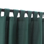 Tab Outdoor Curtains - Green