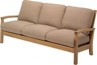 Gloster Kingston Teak Deep Seating 3-Seater Sofa