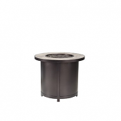 """30"""" Rd. Chat Height Capri Iron Fire Pit"""