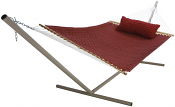 Large Soft Weave Hammock - Burgundy