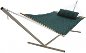 Large Soft Weave Hammock - Green