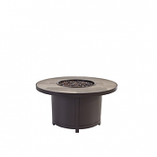 """36"""" Rd. Occasional Height Capri Iron Fire Pit"""