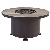 "36"" Rd. Occasional Height Vulsini Aluminum Fire Pit"