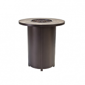 """36"""" Rd. Counter Height Capri Iron Fire Pit"""