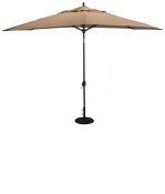 779 8' x 11' Deluxe Auto Tilt Oval Umbrella