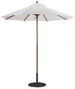 121/221 7.5' Wood Cafe Umbrella