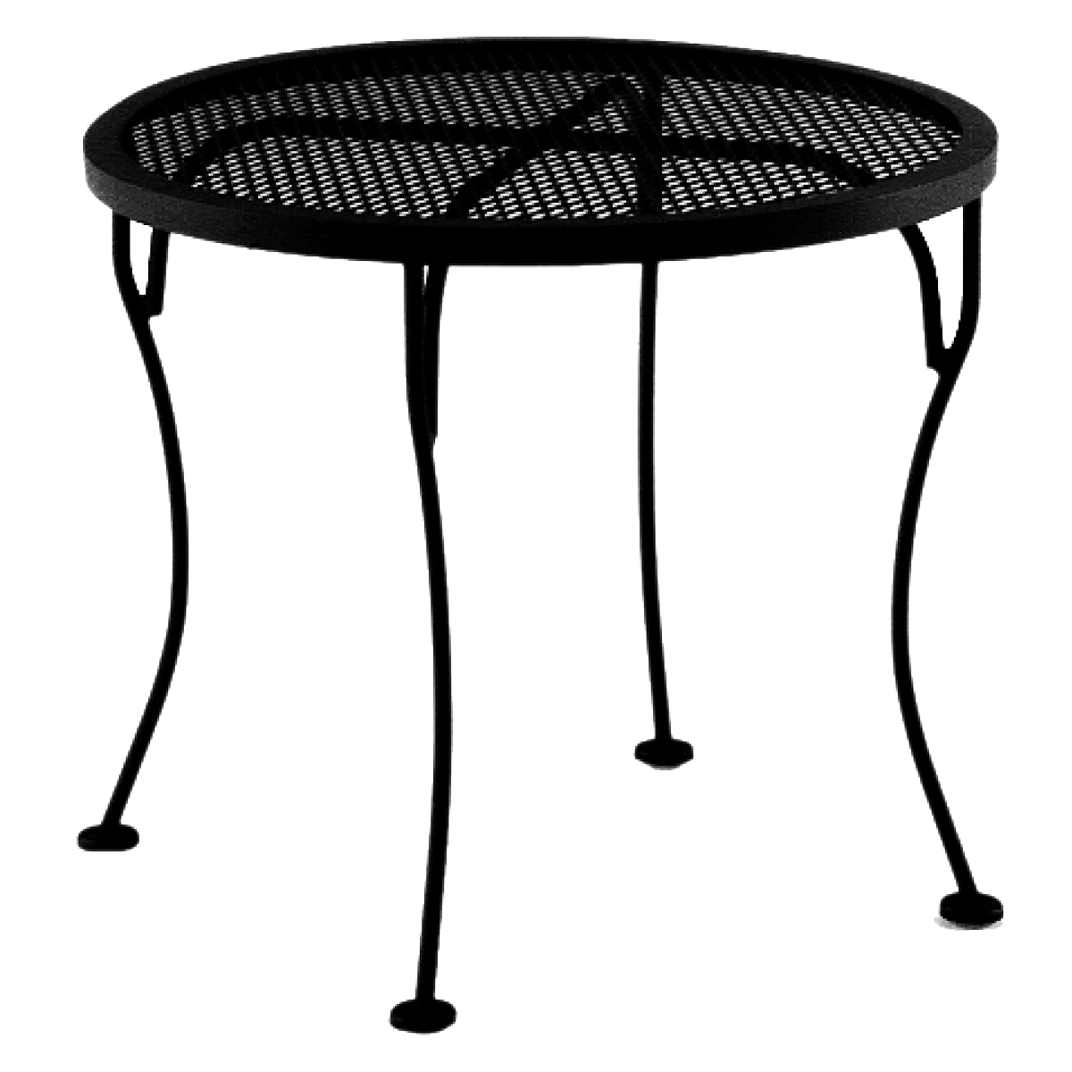 Micro Mesh Top Iron Tables