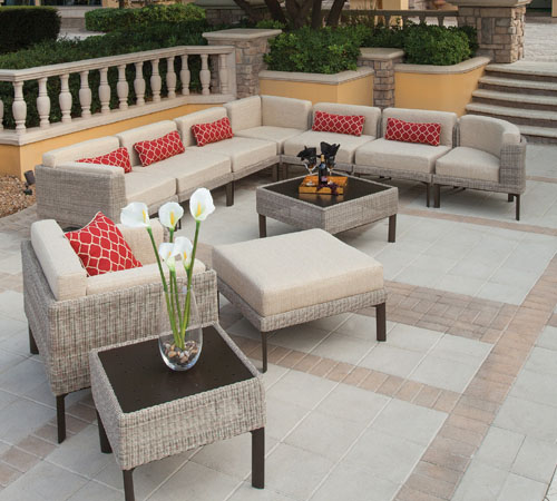 Winston all weather wicker patio furniture for Winston outdoor furniture