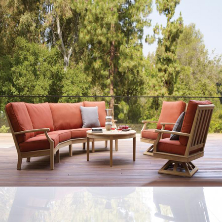 Wood Patio Outdoor Furniture The Patio Collection