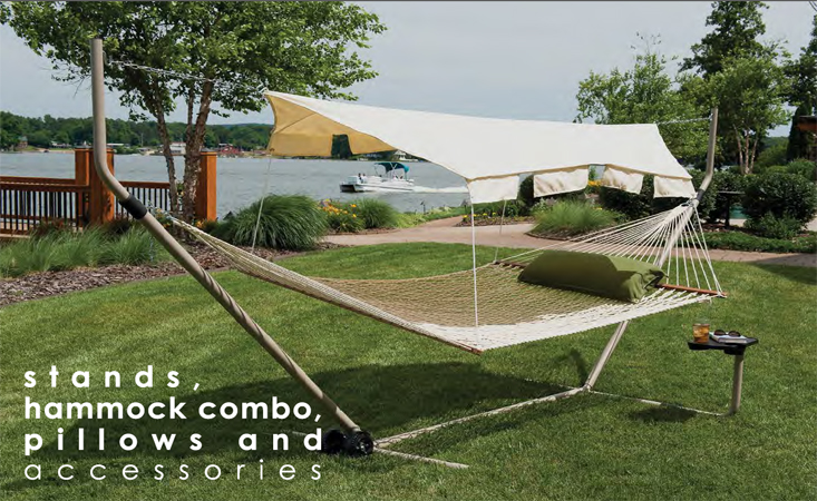 Stands, Hammock Combo, Pillows and Accessories