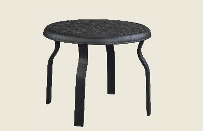 Mandalay Fully Welded Round End Table Base Only B - Welded table base