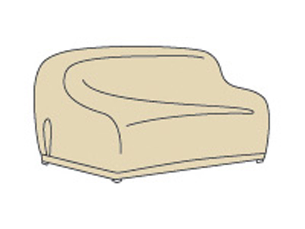 x large sofa or curved sofa protective cover