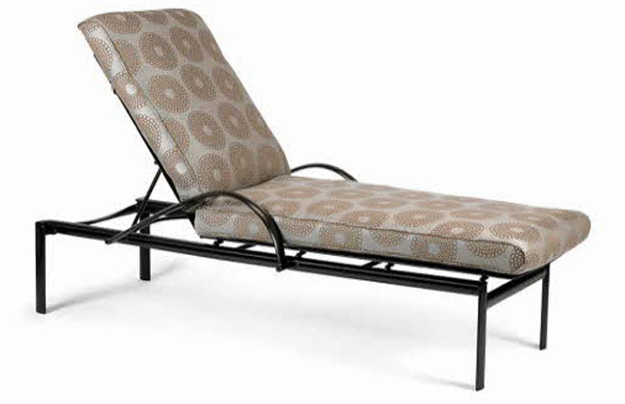 Winston Southern Cay Sling Aluminum Armless Chaise Lounge: Southern Cay Cushion Chaise WIN-M36009