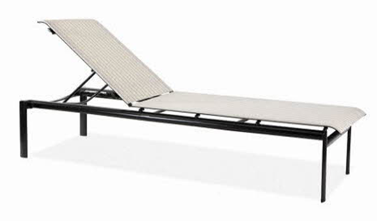 Winston Southern Cay Sling Aluminum Armless Chaise Lounge: Southern Cay Sling Nesting Chaise W/Out Arms WIN-M66009