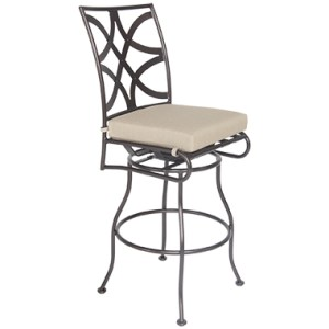 Marquette Armless Swivel Counter Stool