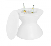 """22"""" Side Table Plus Lid without Umbrella Hole"""