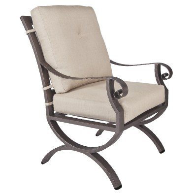 Luna Club Dining Arm Chair