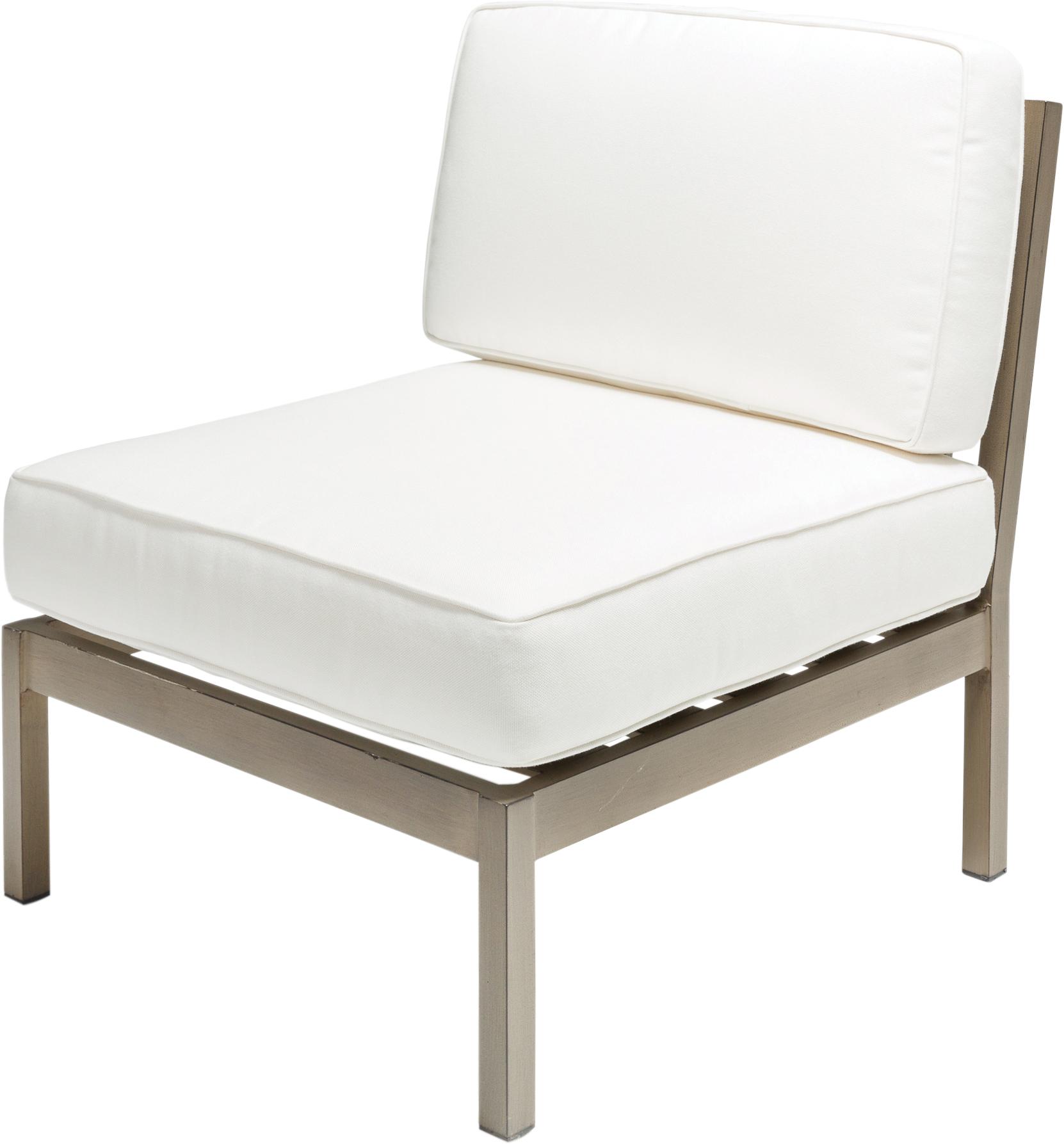Avalon Sectional Armless Chair