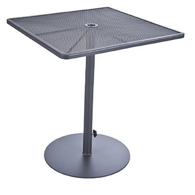 """Lennox 34"""" Sq. Pedestal Bar Table"""