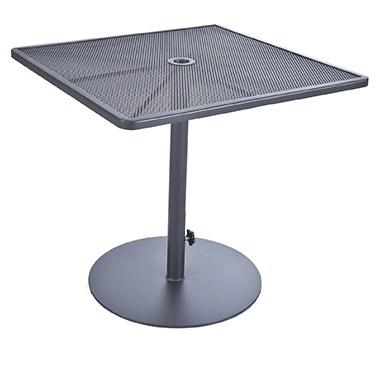 "Lennox 34"" Sq. Pedestal Counter Table"