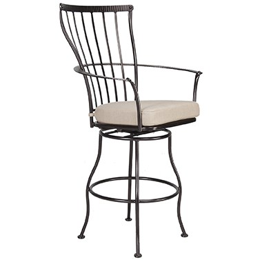 Monterra Swivel Bar Stool With Arms