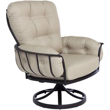 Monterra Swivel Rocker Club Dining Arm Chair