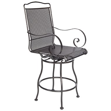 Avalon Swivel Counter Stool With Arms