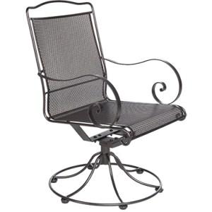 Avalon Swivel Rocker Dining Arm Chair