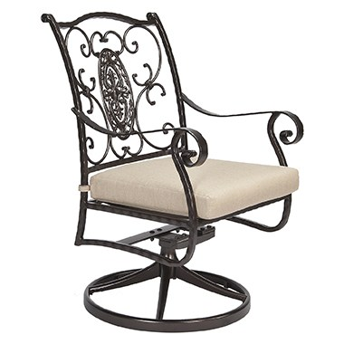 San Cristobal Swivel Rocker Dining Arm Chair