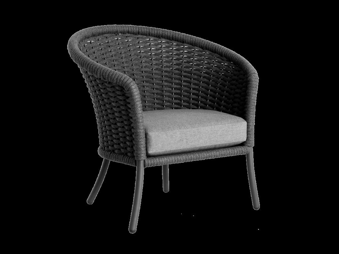 Lounge Chair/ Gray