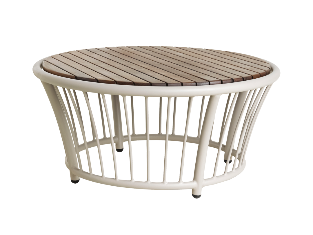 Round Coffee Table/ Beige