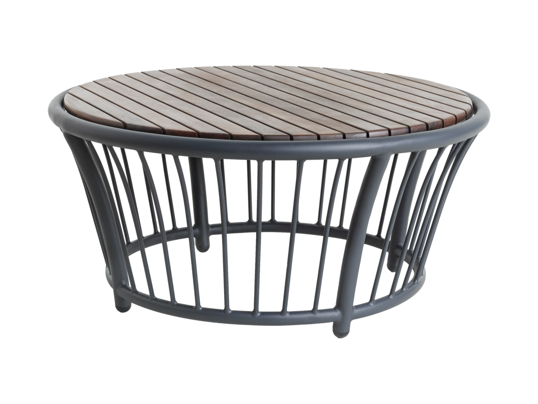 Round Coffee Table/ Gray